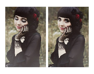 [Photoshoot] #tbt Pierwsza sesja w gothic ever! | My first gothic photoshoot!