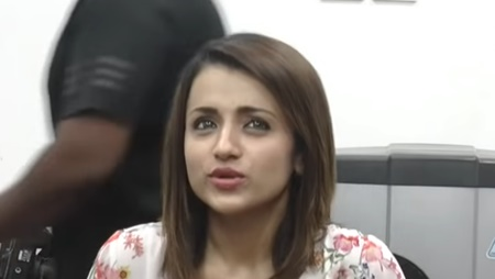 Trisha at 96 Press Meet
