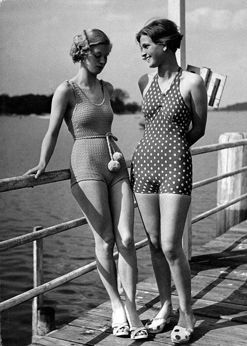 Ispirazione vintage: Abbigliamento da spiaggia negli anni \'20, \'30 e \'40