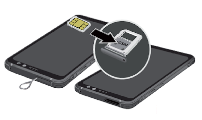 How to Insert Galaxy S8 Active SIM Card