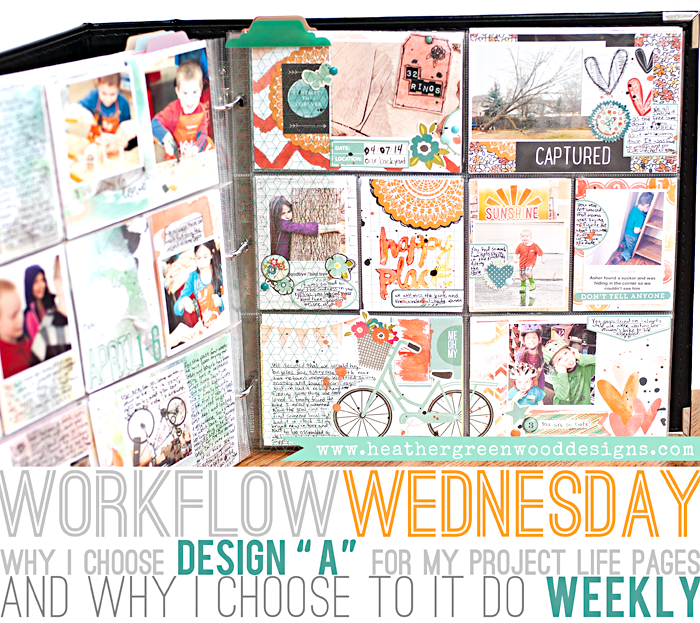 Heather Greenwood Designs Why I Choose Project Life