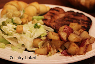 country bbq potatoes