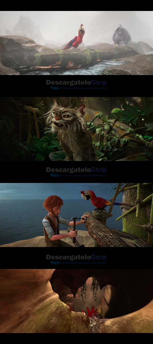 Las Locuras de Robinson Crusoe HD 1080p Español Latino