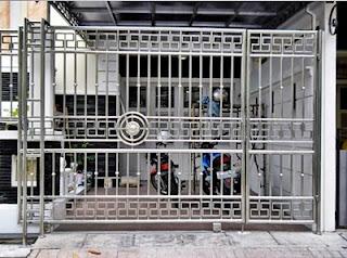 Kumpulan Gambar Pagar Stainless Steel Minimalis Untuk Rumah