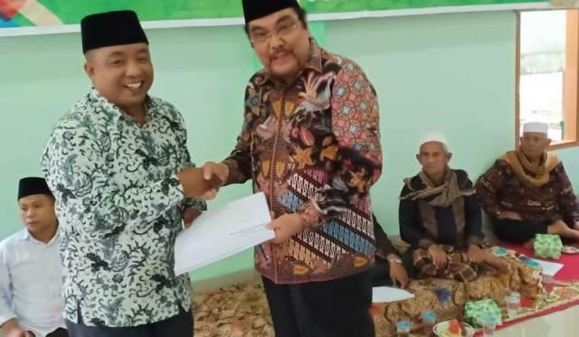 A. Damanhuri Tuanku Mudo Terpilih Sebagai Ketua Umum IKA Ponpes Madrasatul 'Ulum Lubuk Pandan