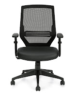 Offices To Go OTG12112B Mesh Chair