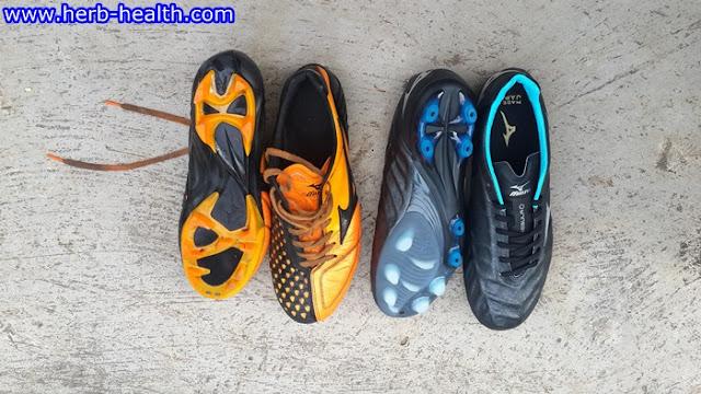 Mizuno Rebula V1 VS Mizuno Ignitus 4 ส่วนพื้นรองเท้า