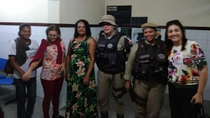 PM e Secretaria da Assistência Social resgatam mulher e filhos mantidos em cárcere privado em Mirangaba