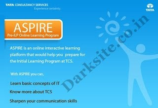 TCS ASPIRE 2012 All Tests & Quizzes Question And Answer |  :: Dark