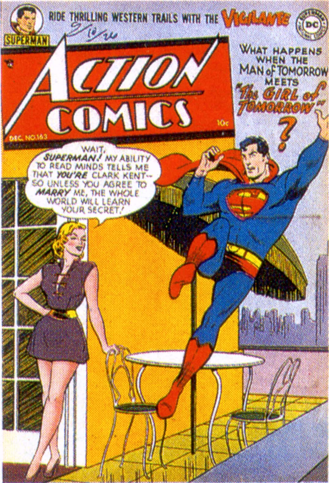 Read online Action Comics (1938) comic -  Issue #163 - 1