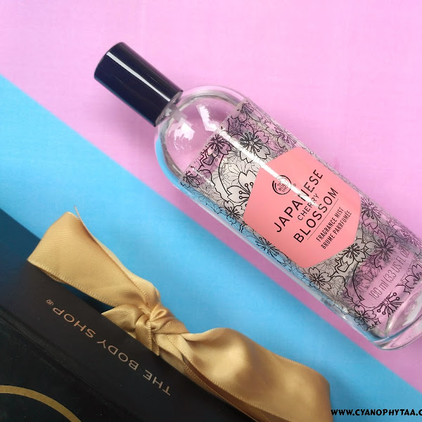 Review The Body Shop Japanese Cherry Blossom Fragrance Mist