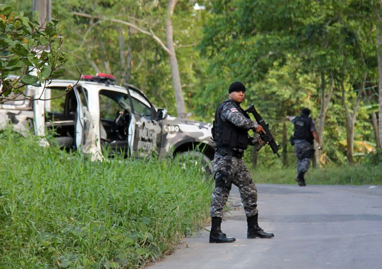 Rioting inmates decapitated their rivals in brutal fighting between two gangs in a Brazilian jail that left 56 dead, while 144 prisoners escaped, officials said.  The riot broke out Sunday afternoon and lasted through the night at a prison on the outskirts of Manaus, the capital of Amazonas state, state public security secretary Sergio Fontes said.