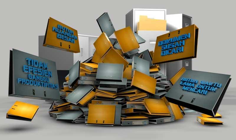 Kekurangan dokumen berbasis kertas