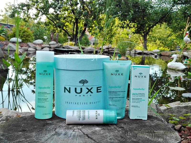 NUXE Aquabella - seria kosmetyków do cery mieszanej