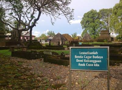 Kompleks makam raja gowa tallo