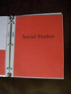 social studies tab