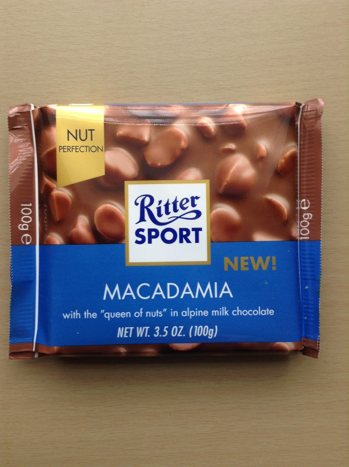 Kev's Snack Reviews: Ritter Sport Macadamia Nut Perfection