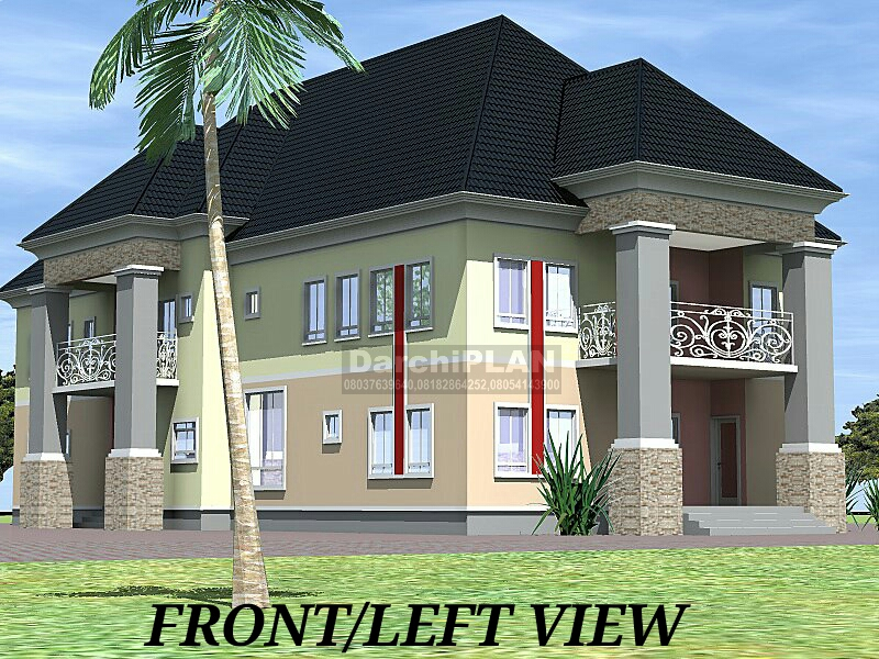 Nigeria building style architectural designs by darchiplan for Nigerian architectural designs