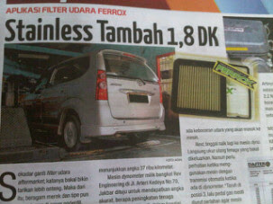 Ferrox di majalah otomotif