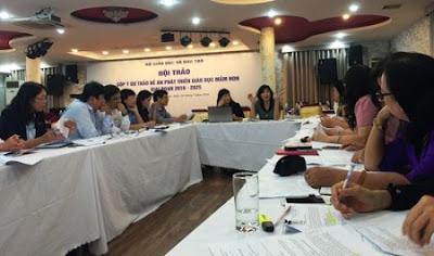 Các đại biểu thảo luận tại hội thảo