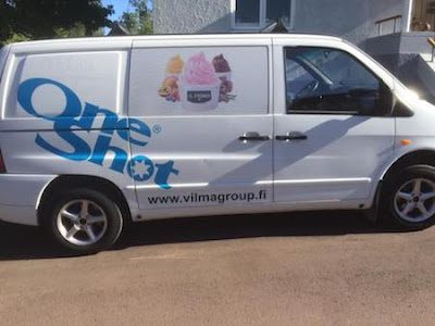 frozen yogurt vans for sale
