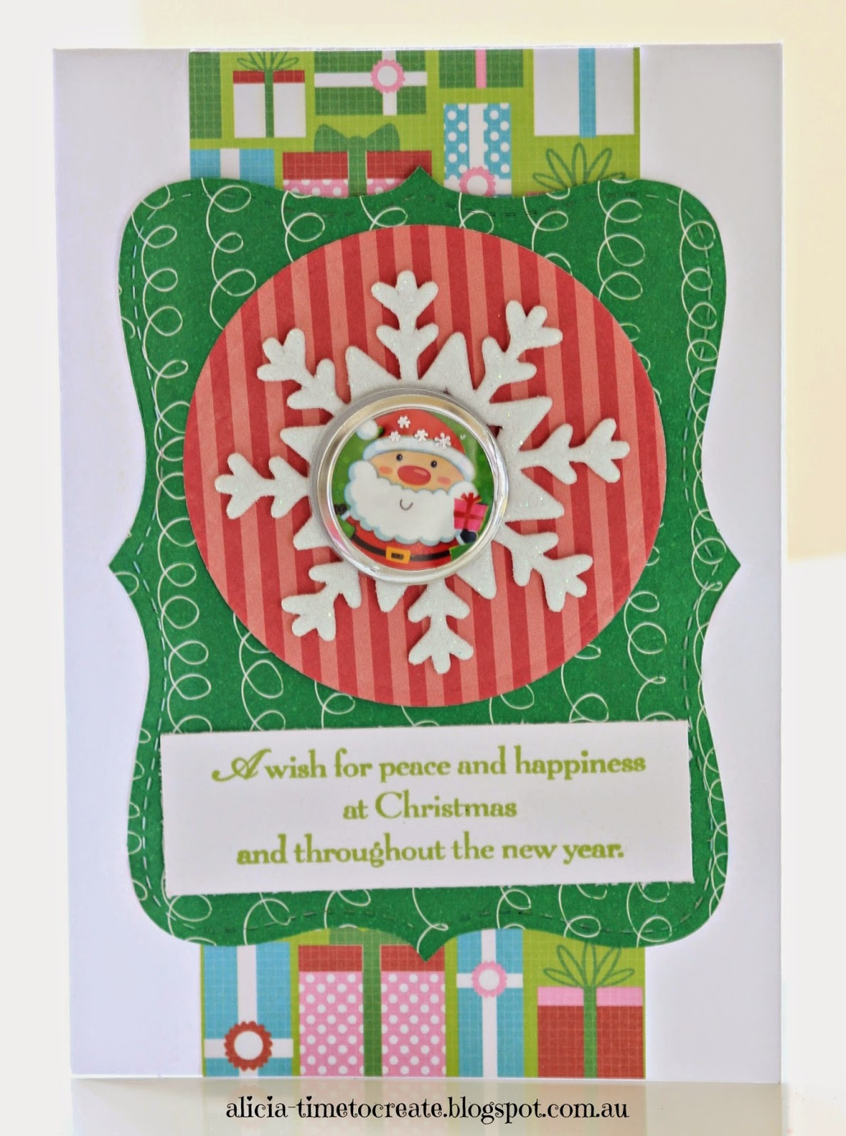Time to Create ...: 5 Quick and Easy DIY Christmas Card Ideas