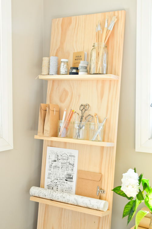 diy shelving system | Scandi Home: DIY Shelf System for the Study