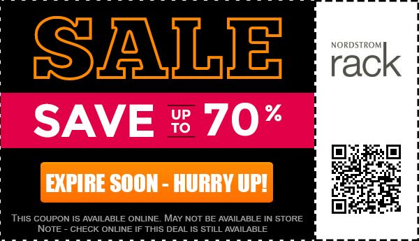 Nordstrom Rack providing Up to 70% off