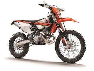 Penampakan Motor Enduro KTM 2 Tak