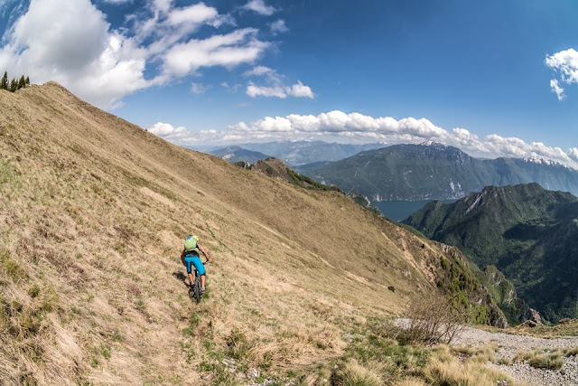 geheime trails am gardasee mountainbike mtb bike cima D'oro