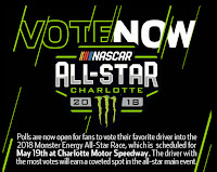 Monster Energy #NASCAR All-Star Race - Vote Now