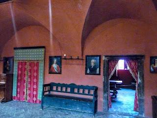 Замок Сент-Міклош. Інтер'єри палацу