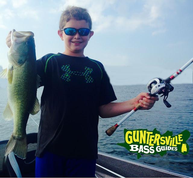 Lake guntersville july 20th for Lake guntersville fishing hot spots