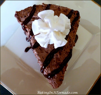 Mile High Triple Chocolate Pie for the ultimate chocolate lover, a no bake rich chocolate pie | Recipe developed by www.BakingInaTornado.com | #recipe #dessert #pie
