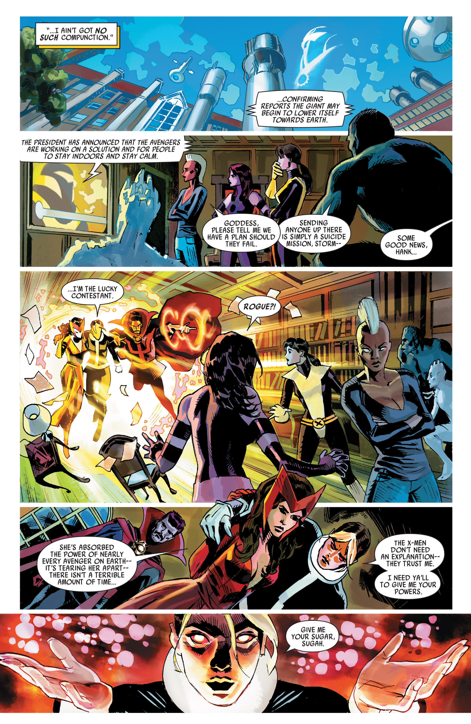 Read online Uncanny Avengers (2012) comic -  Issue #21 - 10