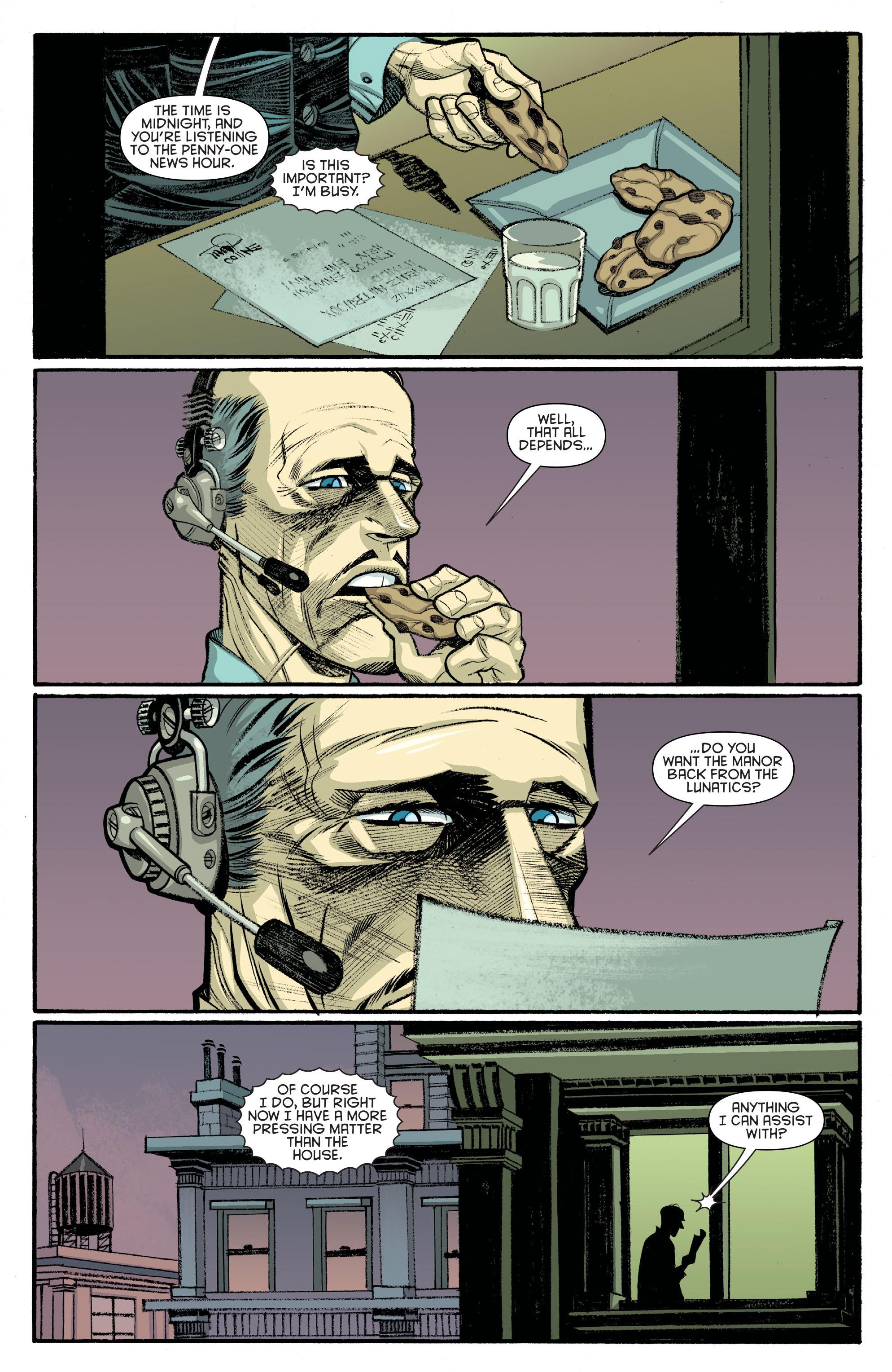 Read online Arkham Manor comic -  Issue #6 - 4
