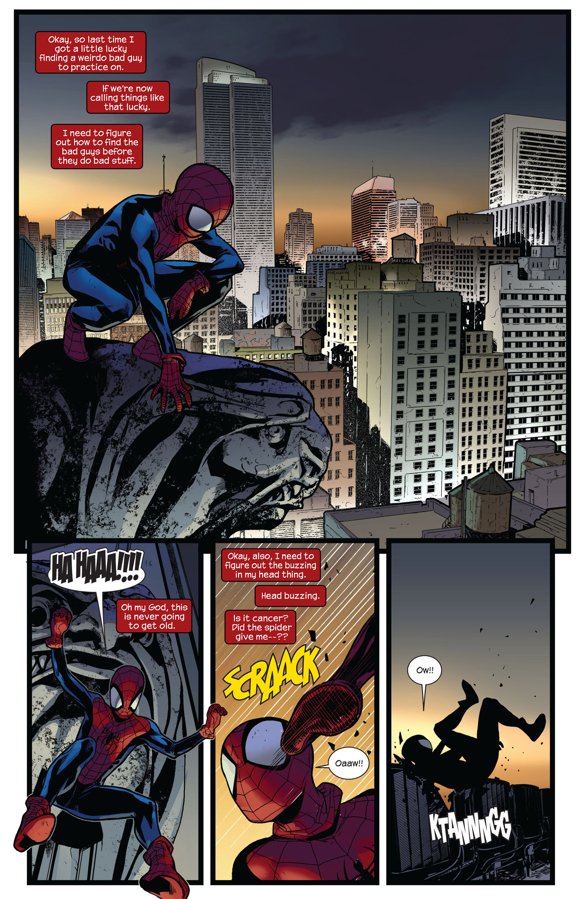 Read online Ultimate Comics Spider-Man (2011) comic -  Issue #4 - 21