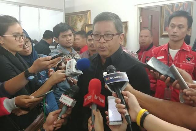 Hasto: Repdem Bangun 1.500 Titik Posko Jokowi
