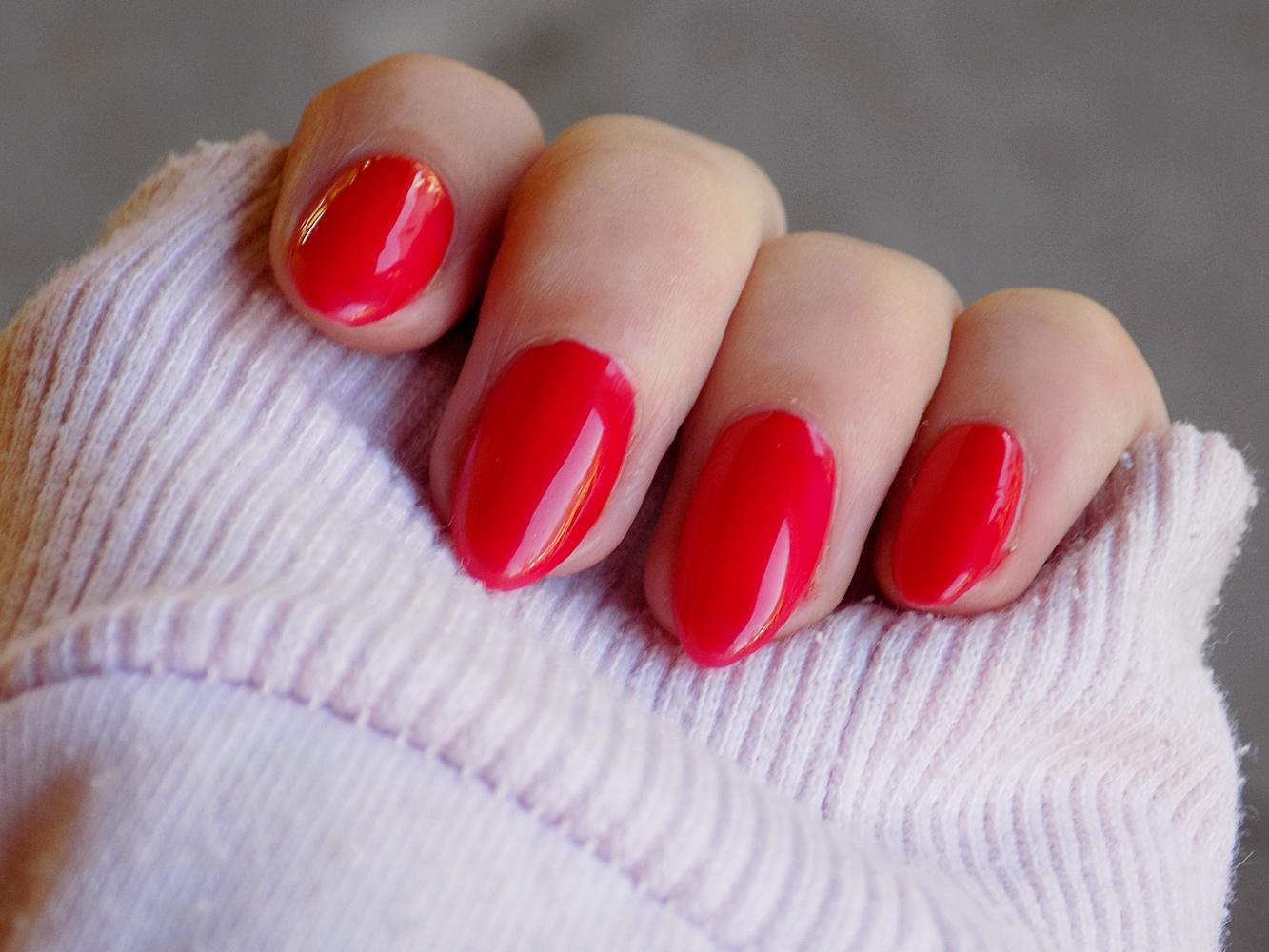 #26 Chiński lakier - czerwona klasyka.