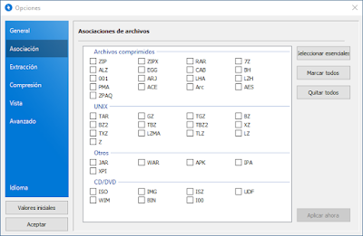 Perfecta alternativa a WinRAR como compresor de archivos para tu equipo