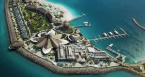 Banana Island Resort - ilha resort no Golfo Pérsico, em Doha Qatar