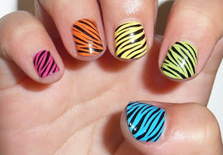 Globelstyle 2016 Last Week Zebra Nail Design And Polish For Younger