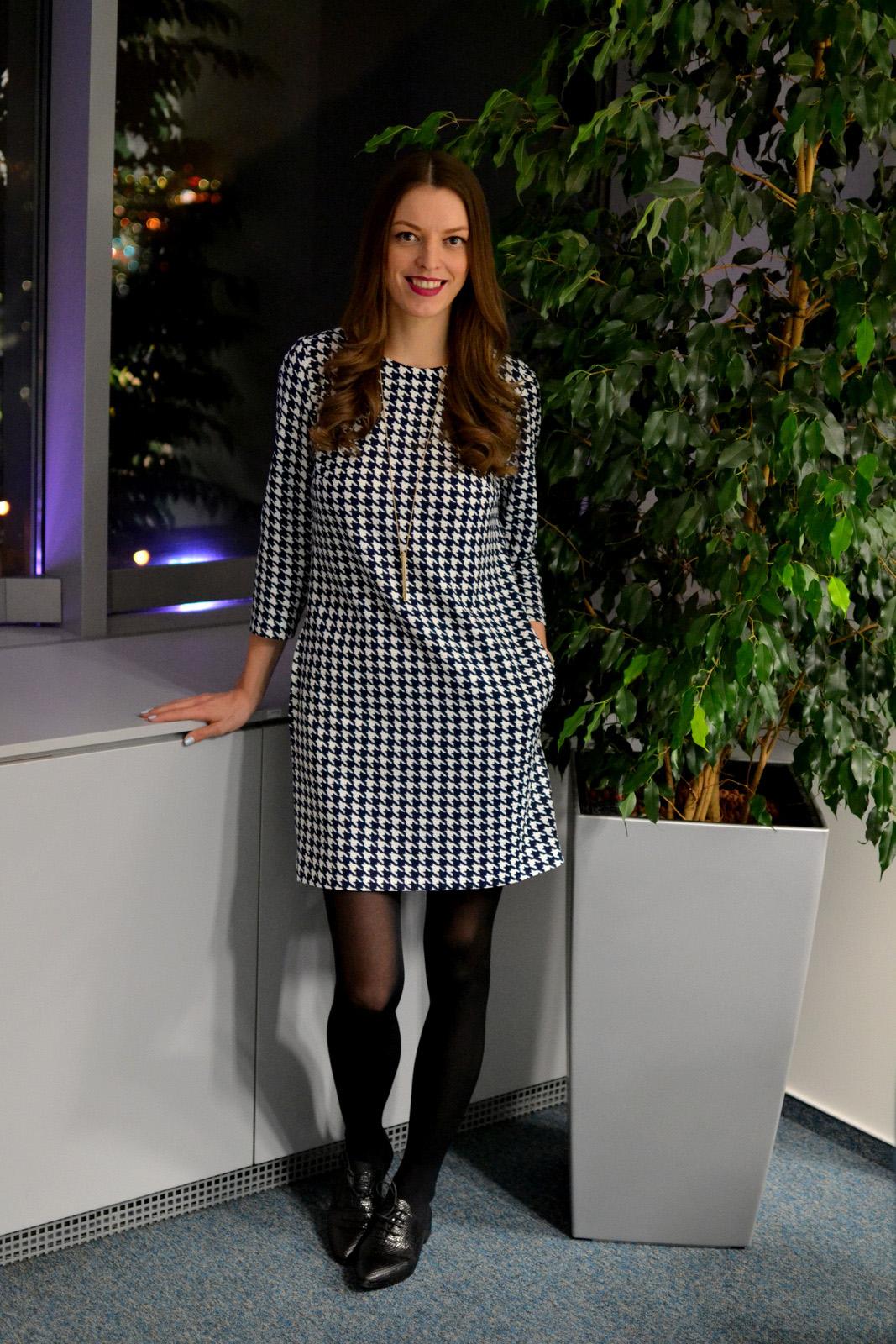 5bf2858a73c4 dress  Ivana Klepáčová (HERE) shoes  humanic tights  f f lipstick  oriflame  nailpolish  BEYU