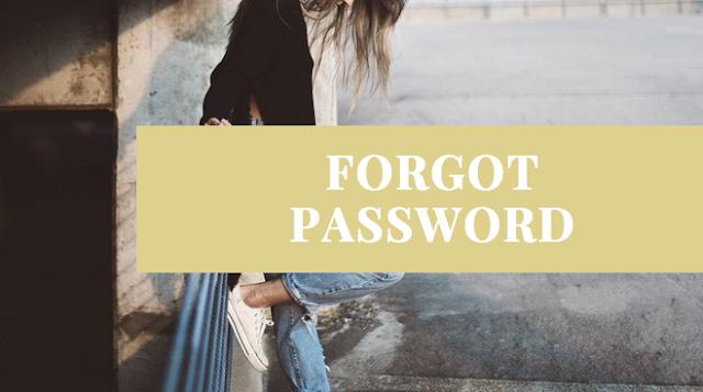 I forgot Facebook Password, how can I reset my password on facebook?