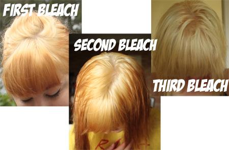 blog3 Dying Platinum Blonde Hair Brown