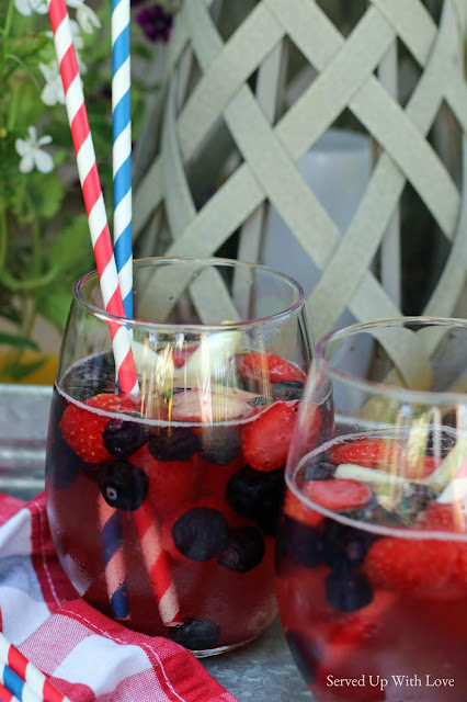 Patriotic Punch from Served Up With Love