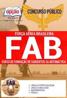 Apostila FAB Curso de Formação de Sargentos da Aeronáutica