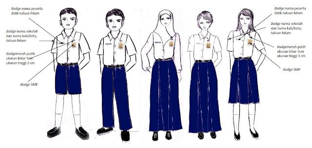Seragam Sekolah berdasarkan Permendikbud Nomor 45 Tahun 2014 tentang Pakaian Seragam Sekolah