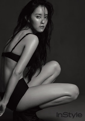 Hyomin T-ara InStyle June 2017