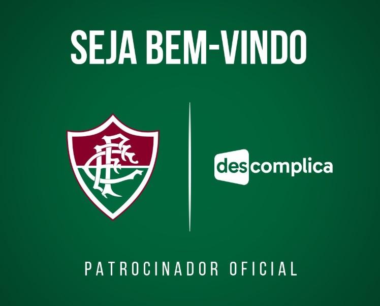 O Fluminense anunciou nesta sexta-feira (11) um acordo de patrocínio com a  plataforma de ensino digital Descomplica. A empresa estampará as costas da  camisa ... fda897383b5ba